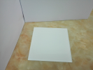 tinted silver mirror-Super white paint