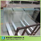 *3.2mm tempered clear float glass for balcony