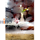 Art Glass Frosted Glass Patterned Glass Acid Etched Processing Glass Partition Glass Door Glass