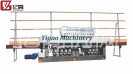 10 Motors 45° Glass Straight Line Edging Machine(YGM-10325B-45°)