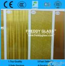 3-6mm patterned mirror/color pattern mirror/tinted rolled mirror/tinted figured mirror/color stained