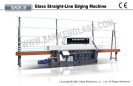 High quality 9 spindle Glass Straight Line Edging Machine