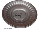 Glass Fruit Plate Mould D27