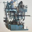 Multi-station Geneva glass press