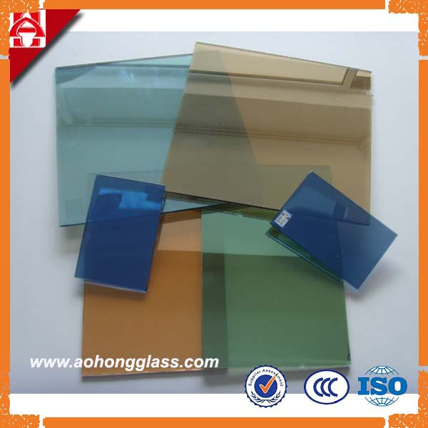 4mm 5mm 6mm tinted reflective float glass