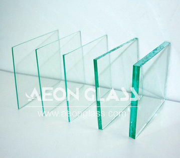 2-19mm Clear Glass with CE certificate