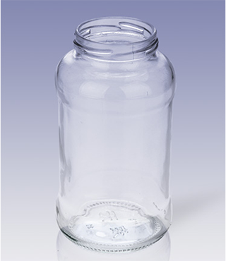 800g screw-cap straight body food bottle