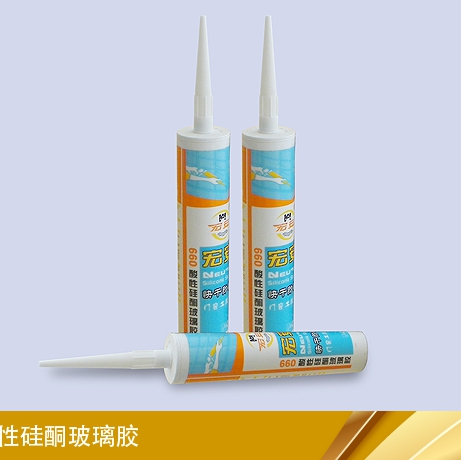 acid silicone glass glue