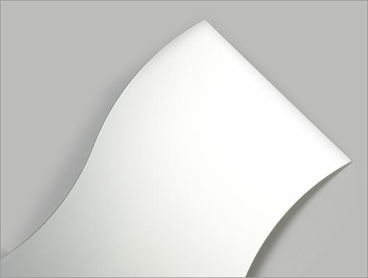 Modern wavy mirror glass from Sinoy Mirror Inc.