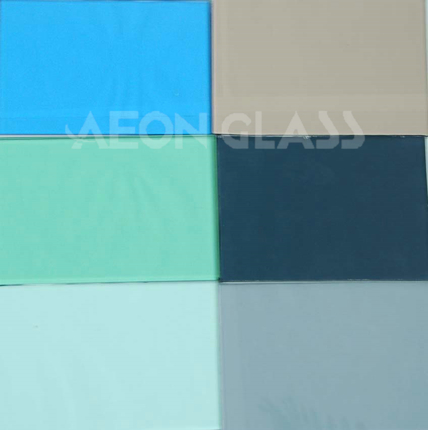 4mm, 5mm, 5.5mm, 6mm, 8mm, 10mm Float Coloured Glass with CE & ISO ...