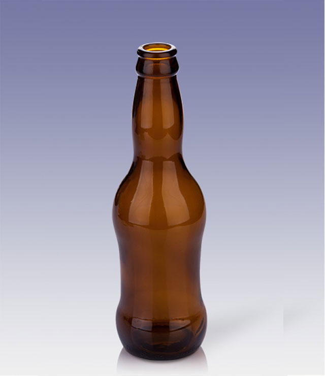 320ml small-size brown beer bottle
