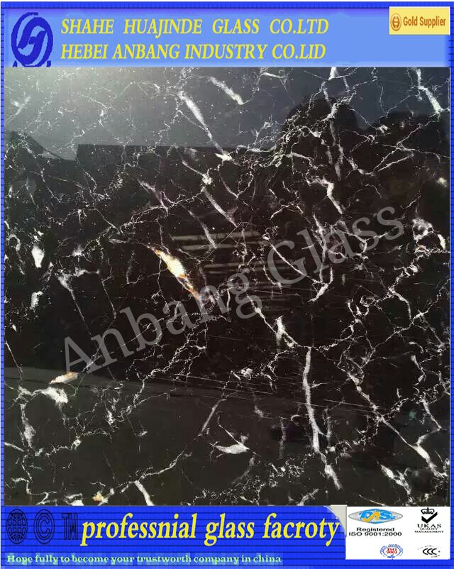 marble glass, decorative art building factory hot sale glass, colourful glass