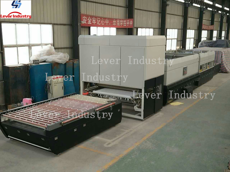 Single Bending Glass Tempering Furnace for Rear Window