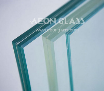 4.38mm-30mm Glass Laminated Clear with CE & ISO certificate