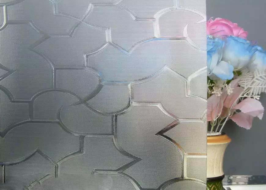 Clear Patterned Glass-Karatachi