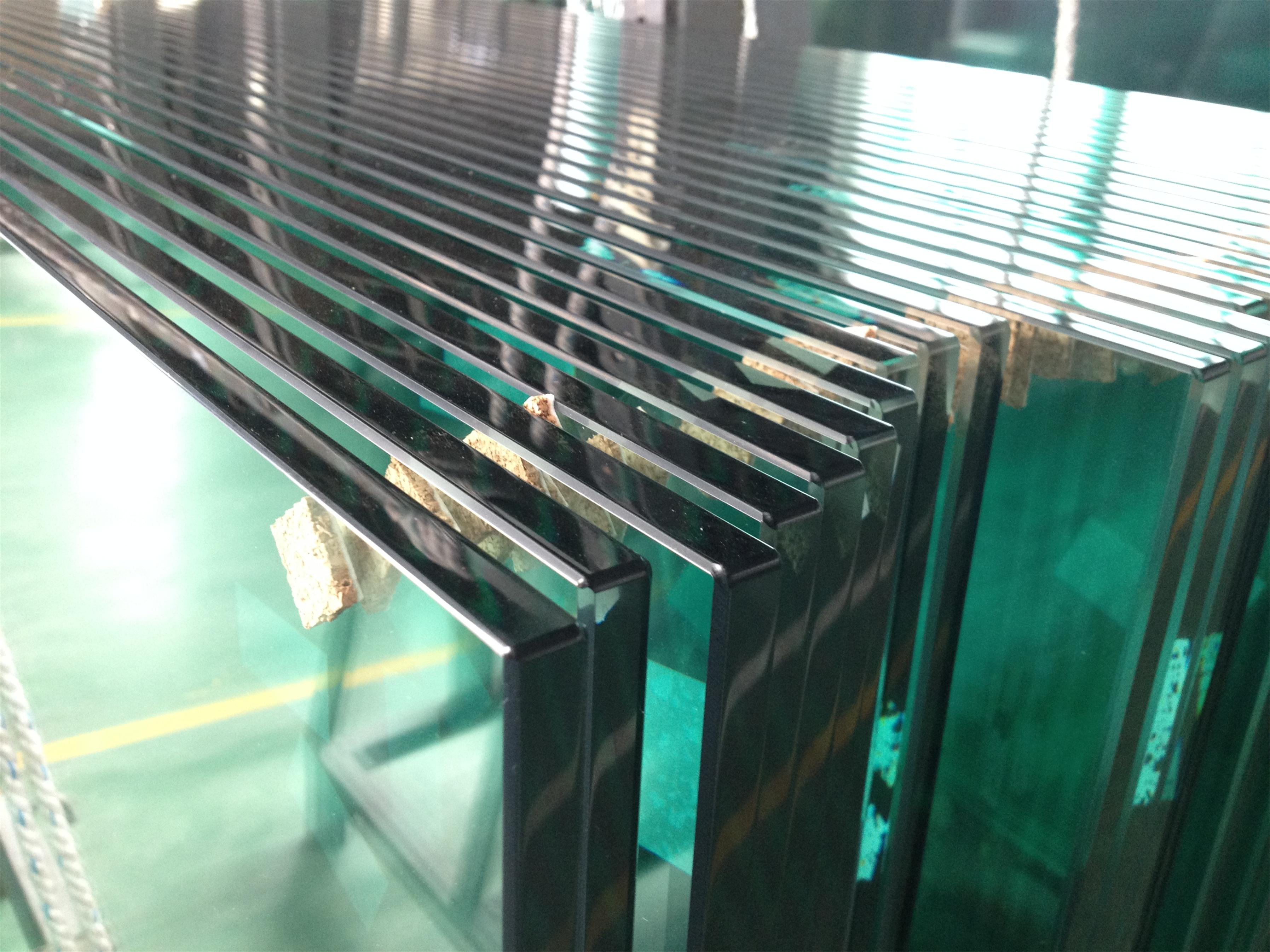 3mm-19mm Tempered glass