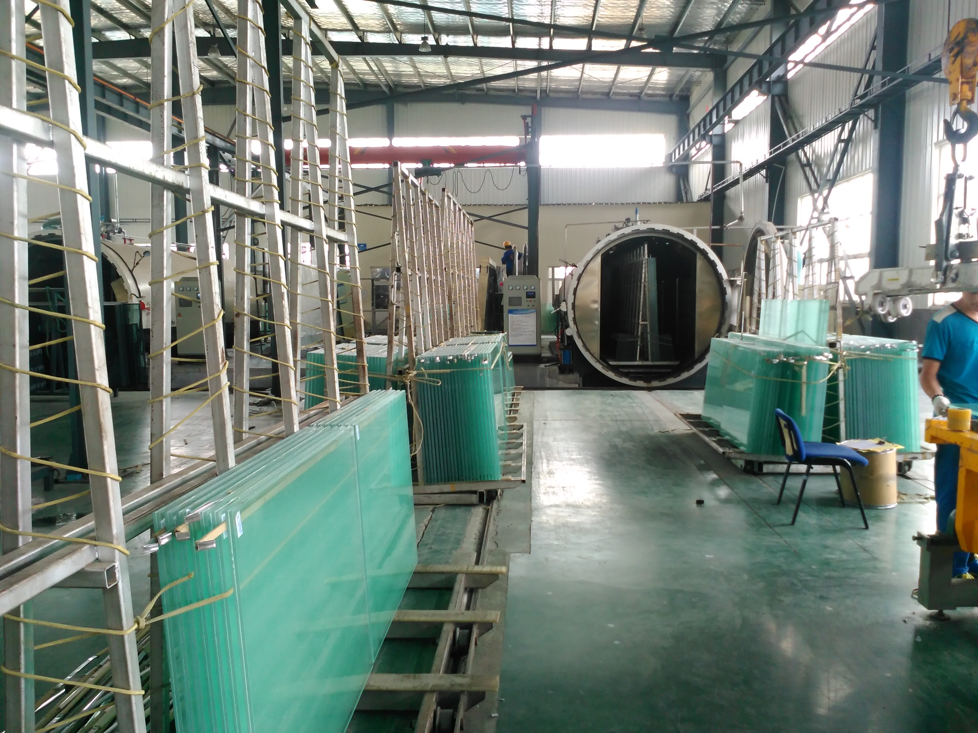 10.38mm PVB Laminated glass