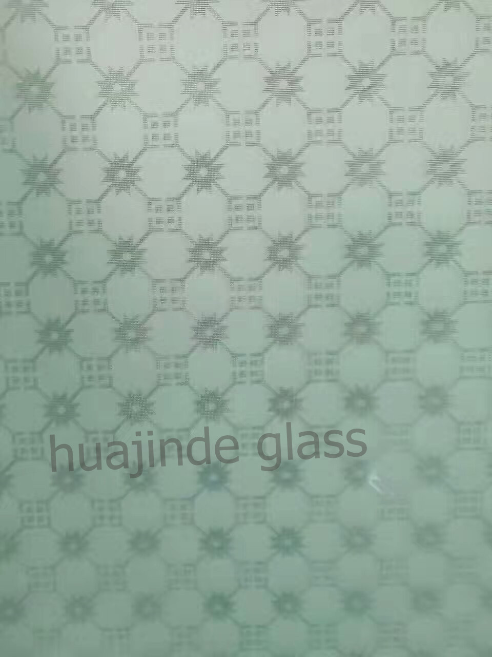 Frosted acid etched art glass,acid pattern decorative glass 3.5mm ...