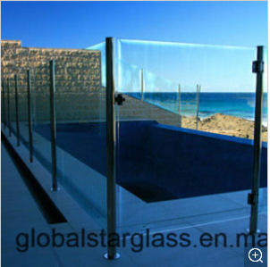 12mm Frameless Tempered Glass (Pool Fencing)