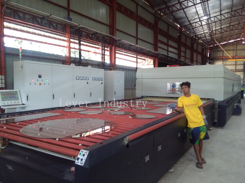 Horizontal Rollers Hearth Glass Tempering Furnace