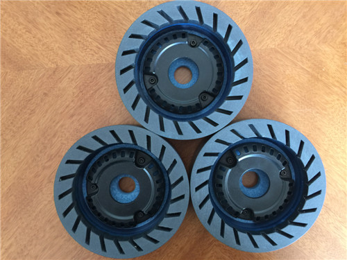 Resin wheel for beveling machine
