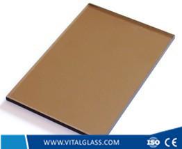 Bronze float glass