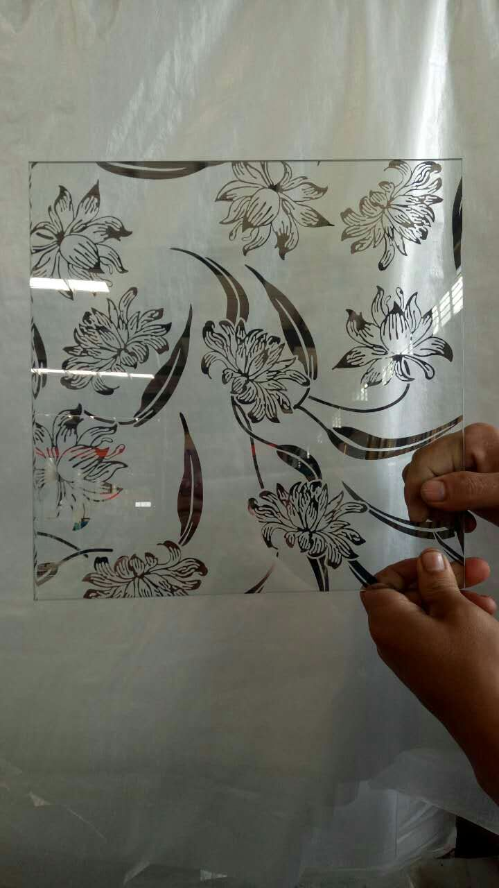 frosted glass,titanium glass with 1830*2440 mm