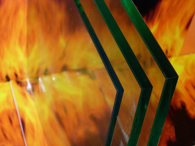 Fireproof Glass Fire-Resistant Glass with CCC+ISO