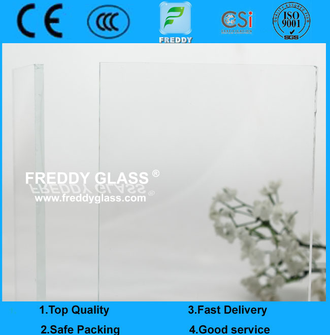6mm Low Iron Foat Glass/Ultra Clear Float Glass for Building
