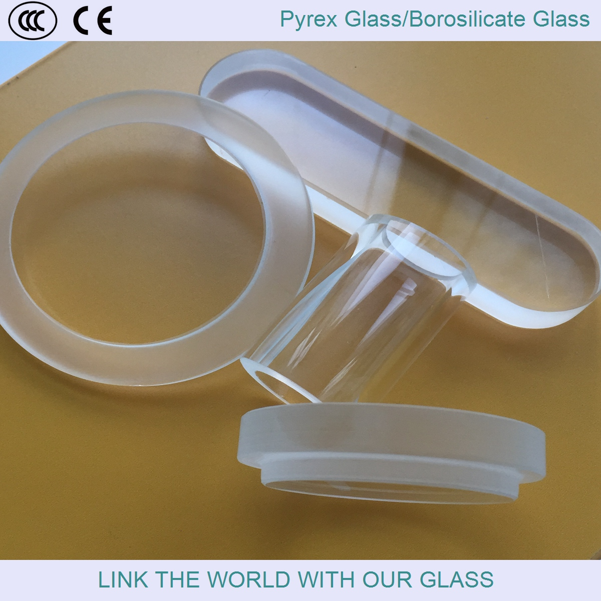 borosilicate glass/pyrex glass/sight glass/heat resistant glass/quartz glass