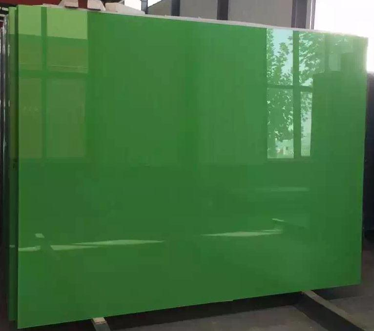 color apple green glass