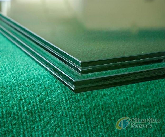 6.38mm clear laminated glass