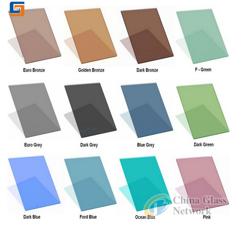 High Quailty 3-12mm Tinted Float Glass