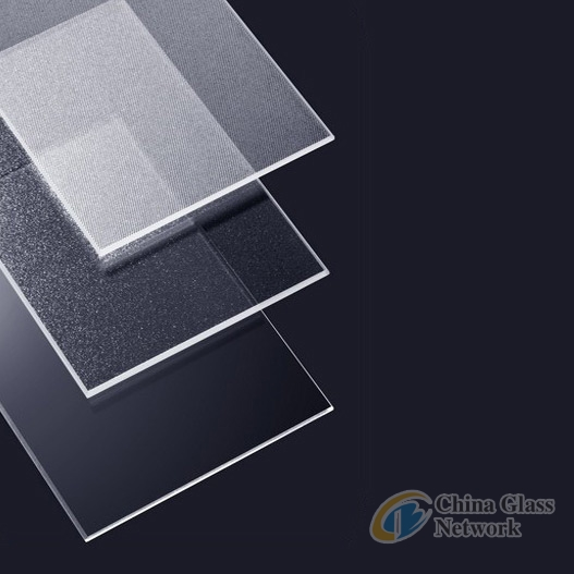 4mm Tempered ultra clear low-iron glass plate