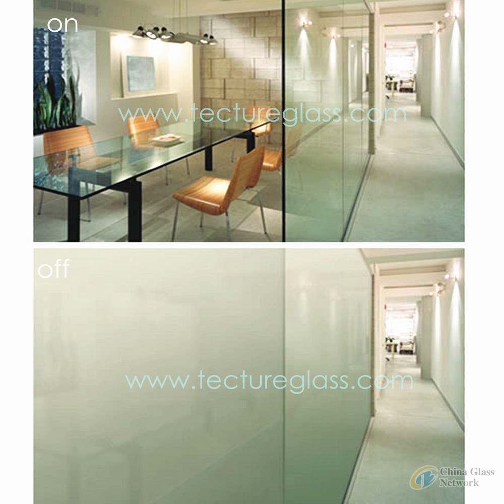 Tecture smart switchable PDLC laminated glass