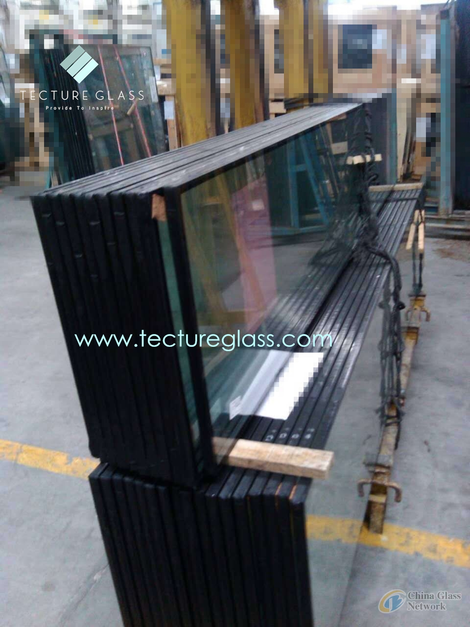 Tecture toughened insulated glass double glazing glass