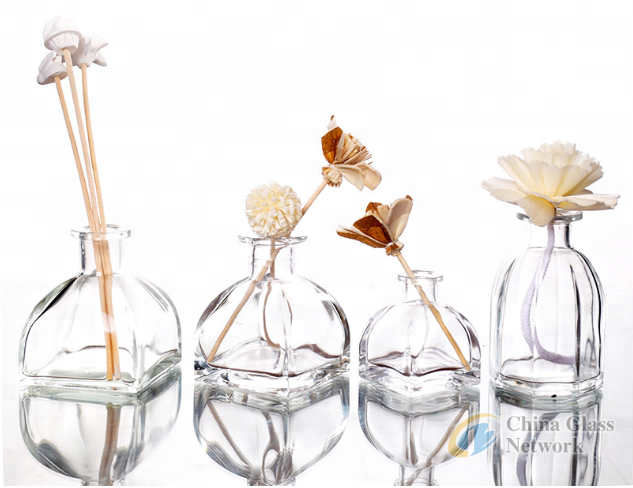 Wholesale 30ml Aroma Decorative Glass Reed Diffuser Bottle