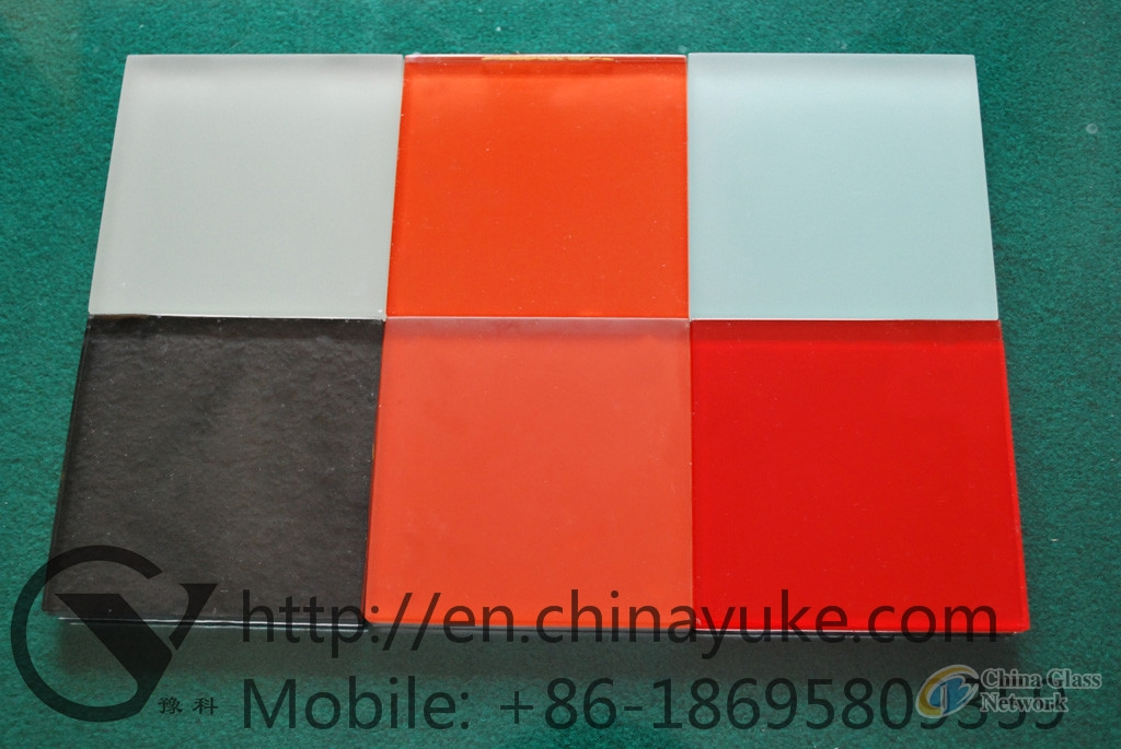 Colorful Float Glass