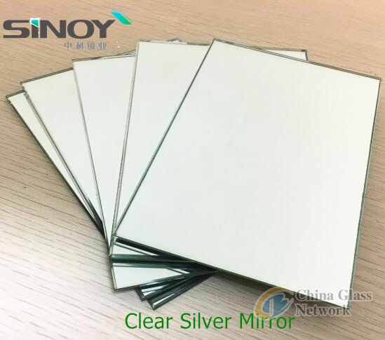 2mm Aluminum Mirror 1830 x 1220/2440mm with magnetron sputtering coating technology