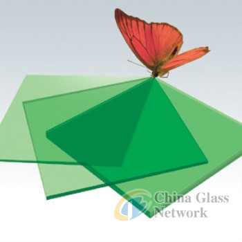 green colored glass sheet tempered glass for wall decpration SYS-Low