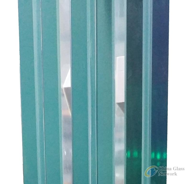 Edge no mismatched Sentryglas laminated glass