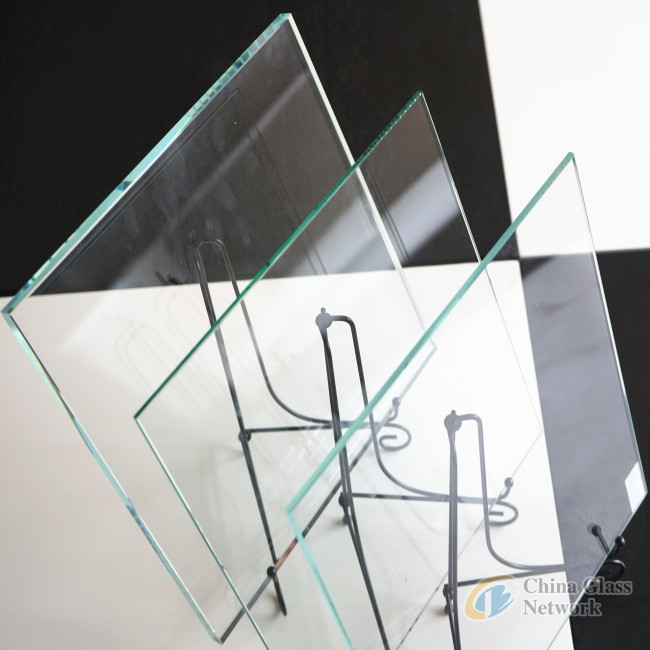 4mm 6mm customized colors clear float bathroom furniture tempered glass