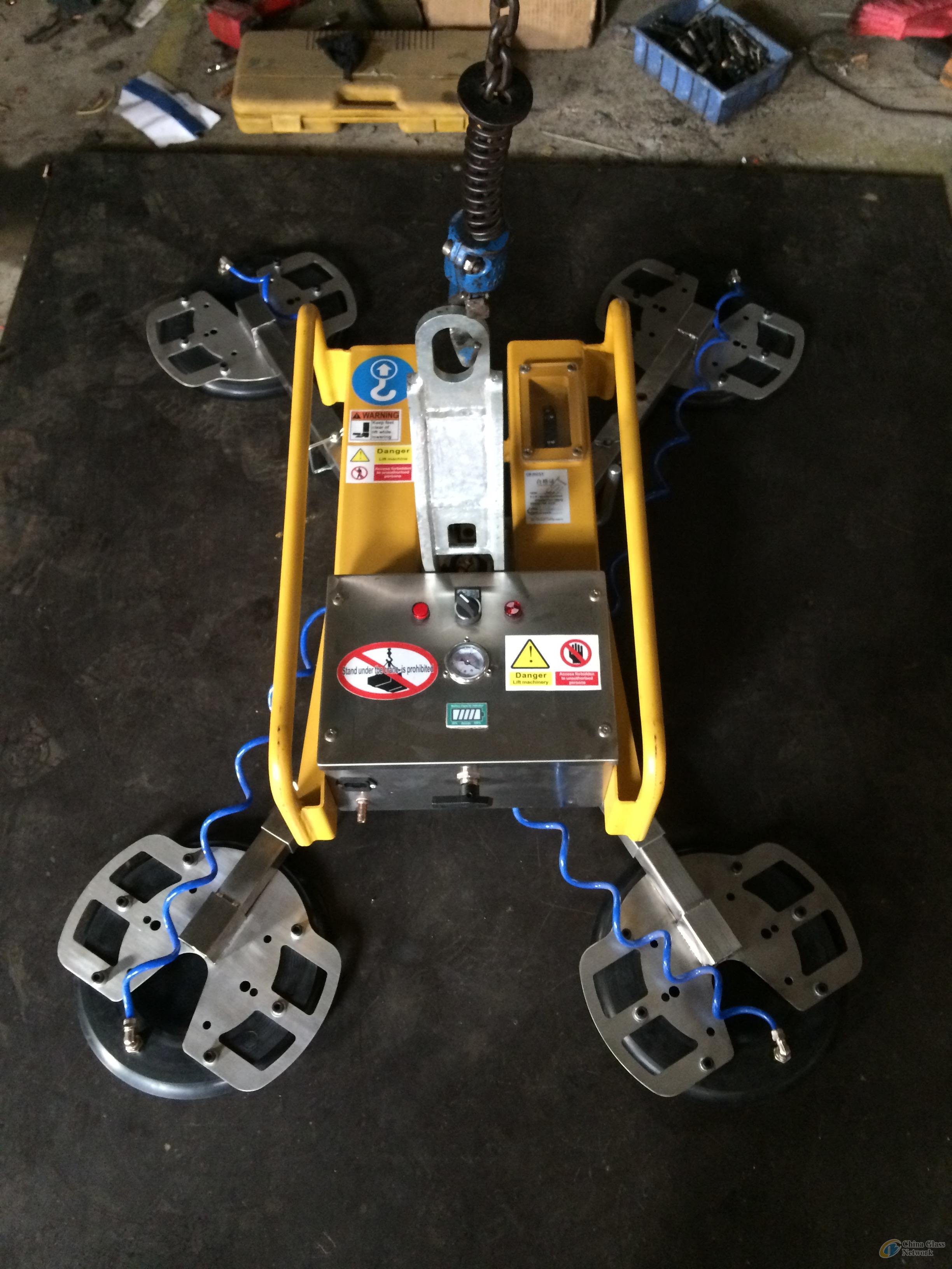 Battery powered glass lifter, glass sucker, glass vacuum lifter