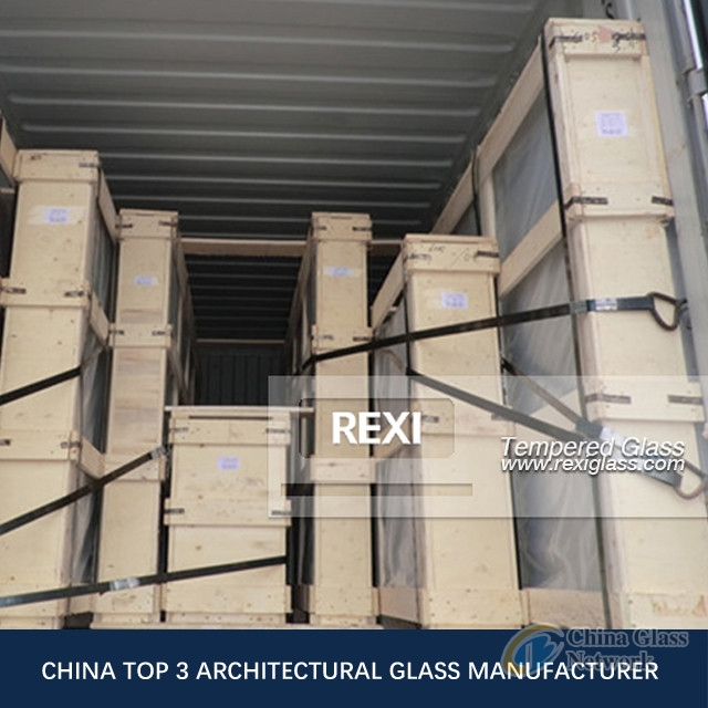 REXI, Tempered Glass Factory in China produce 3mm-19mm Tempered Glass
