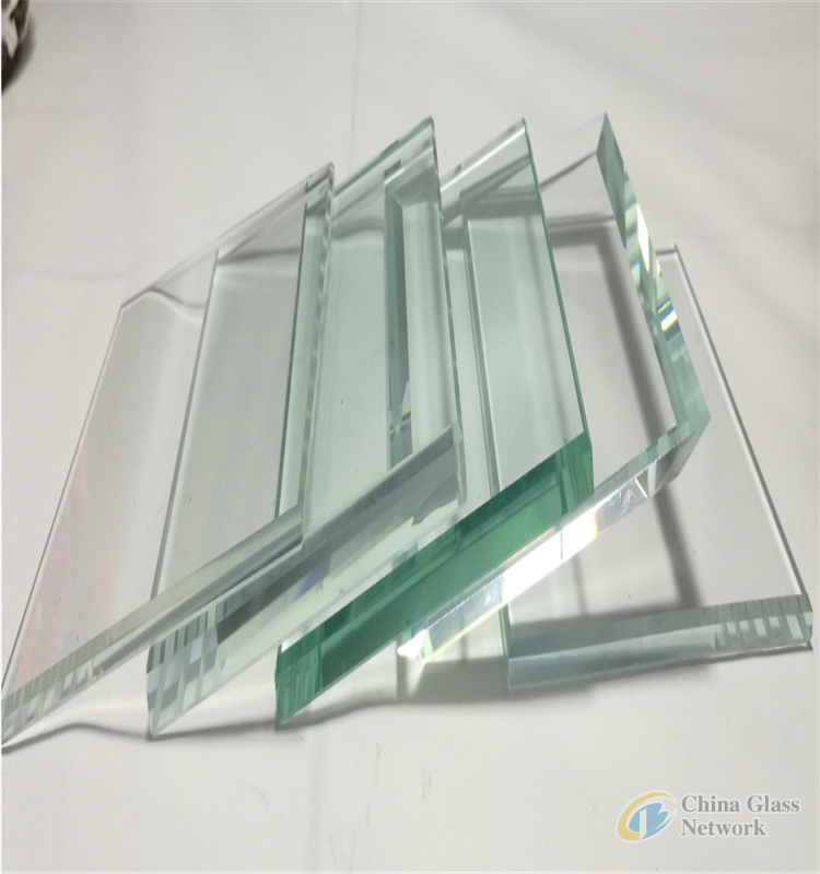 3-6mm clear white glass high quality flat clear float glass building glass