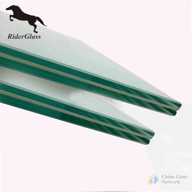 12mm clear laminated low e glass