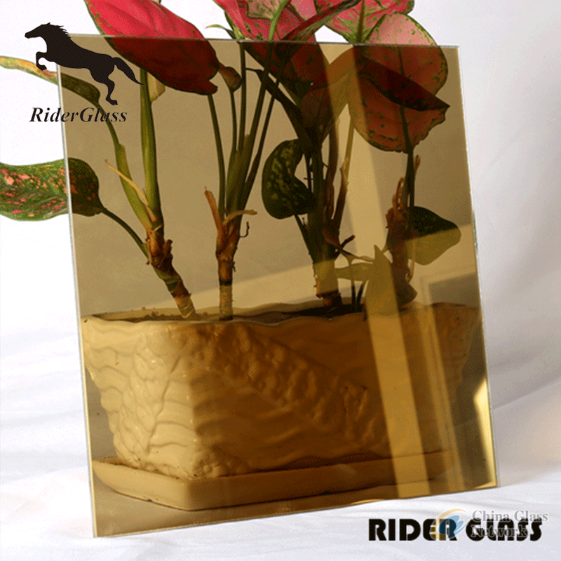 5mm Light Bronze Reflective Glass Price