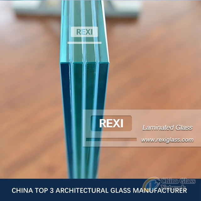 6.38mm-40.28 mm flat/curved LAMINATED GLASS, CE, SGCC&AS/NZS certified
