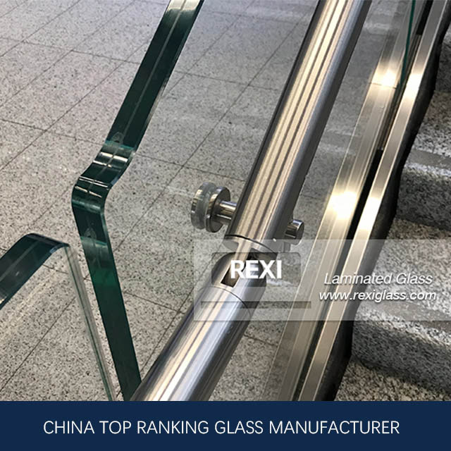 6.38mm-40.28 mm flat/curved Acoustic Laminating Glass, CE, SGCC&AS/NZS certified