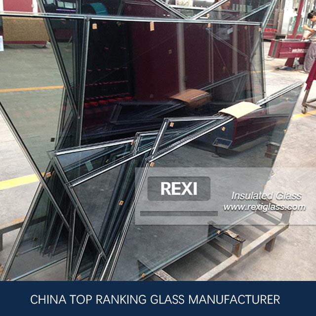 Tempered Laminated Insulated Glass for Aluminium and Glass Curtain Wall